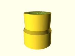 Vacuum hoses adapter (parametric)