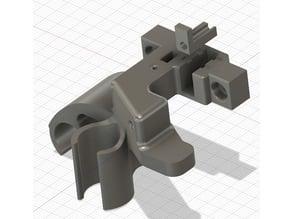 Alfawise U20 - support cable et capteur fin de filament