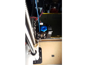 Anet A8 Extruder button