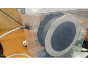 Airproof valve with filament filter for plastic box