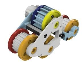 RC Wheel Track Conversion