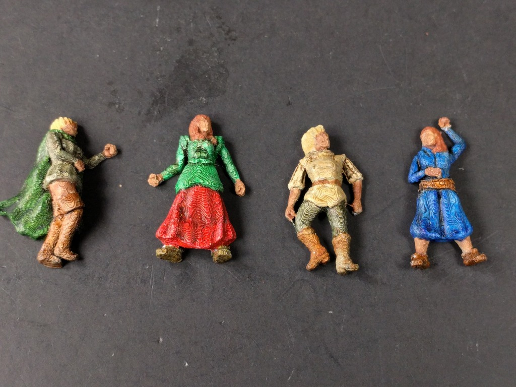 28mm Dead Female Villagers by Curufin - Thingiverse