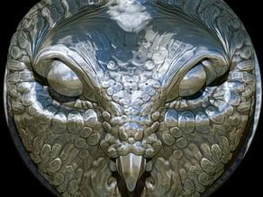 MOLOK-OWL GODDESS RING