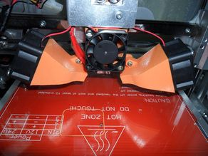 Universal fan duct cooling for lama hotend