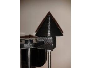 Vertical spool holder for all spool sizes