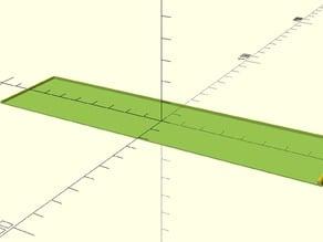 Parameterized movement tray