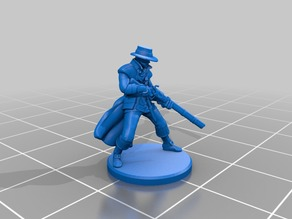 Humanoid Hunter Miniature 2
