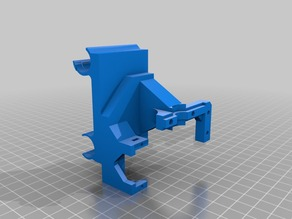 Twoup! Modified E3D v5 Hot End Holder