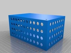 Drawer System II remix: customizable under tabletop shelf & customizable drawers