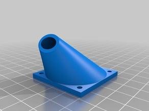 Fan PRUSA i3 HotEnd Adapt to J-head / Adaptacion del soporte del ventilador a extrusor J-head