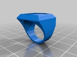 Shield Ring Blanks