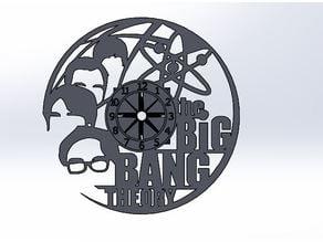 The Big bang theory clock