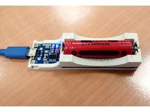 14500 Li-Ion charger (TP4056 based)