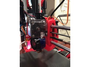 BLTouch Mount E3D Titan Extruder Upgrade for Anet A8 / AM8