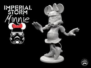 IMPERIAL STORM MINNIE -Desktop Disney Trooper II-