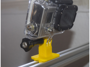 Laser GoPro Mount (for 20x20mm extrusion)