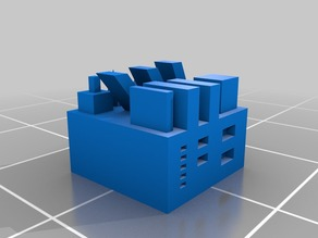 Small Cube Test Object