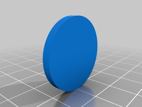 Miniature Magnetic Base for 28mm miniatures (Buckyballs 5mm)