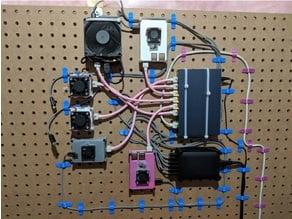 2 Pin Wire Clip (Pegboard)