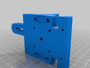 HyperCube Evolution - X-Carriage - Extruder Mount