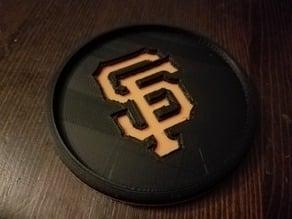 SF Giants Coaster