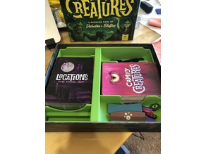 Campy Creatures 2nd Edition Insert