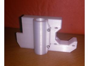 X motor mount left side for Anet A8 with z-rod bearing tightners