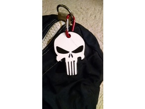 Punisher Luggage Tag