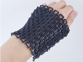 3D Printed Chainmail