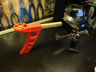Quadcopter molded leg