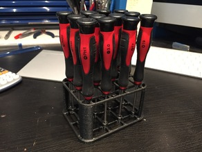 Mini screwdriver holder