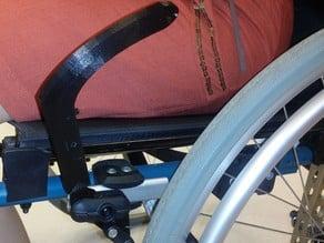 OT student project : extended wheelchair brake lever / Projet étudiant en ergothérapie : manette de frein rallongée pour fauteuil roulant
