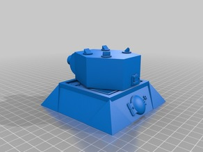 28mm Sci-fi wargaming turret emplacement
