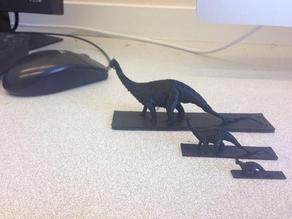 AMNH Apatosaurus with base