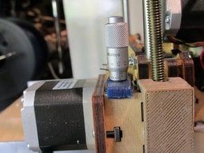 Printrbot+ Micrometer Z Adjuster