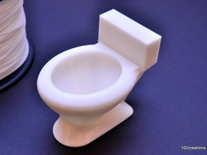 Toilet Shaped Cup