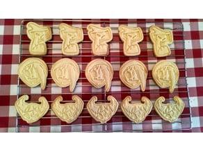 Grim Tales Cookie Cutters