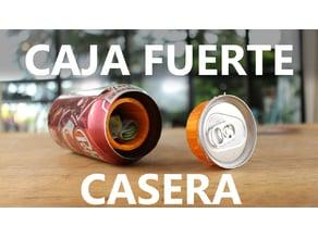 Soda Bank - Caja fuerte casera