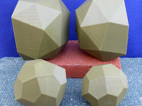 Bowls from Polyhedra