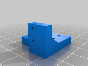 Y-axis endstop switch extension for Wanhao or Monoprice i3
