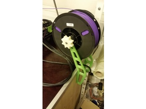 Workbench filament spool holder