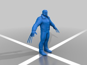 wolverine action figure static