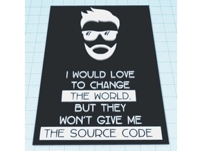 Programmer / Coder Sign / Logo / Plaque