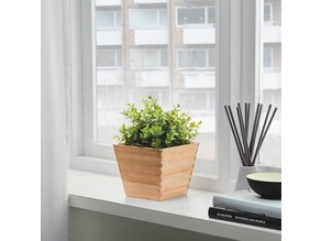 IKEA Vildapel Bamboo Pot Inner Sleeve