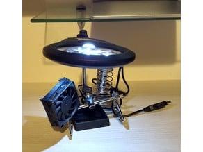 PowerFix solder iron pen holder exhaust