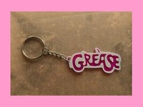Grease keychain