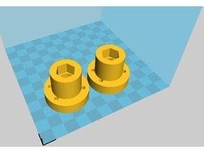 flange nut of TECHB V30 3D-PRINTER