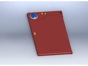 Kanto Pokedex ID Card Holder