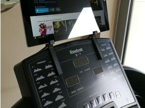 Treadmill Tablet mount for Reebok treadmill