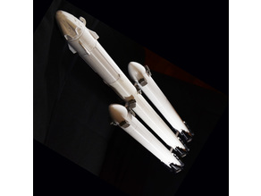 SpaceX Falcon Heavy Expansion Kit for Falcon 9 Model